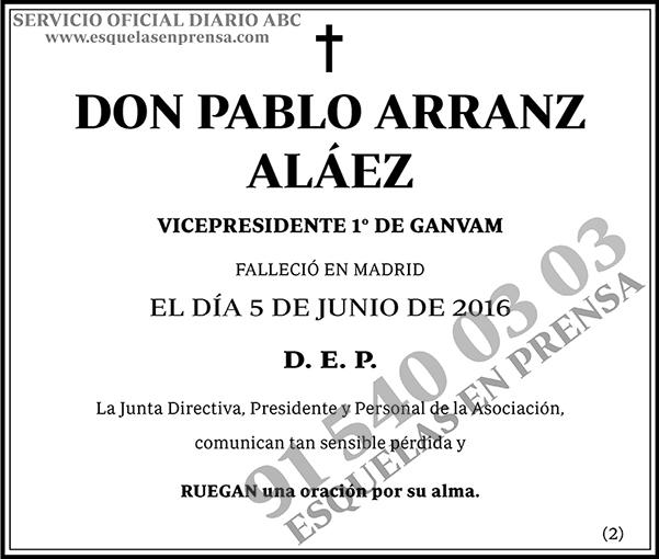 Pablo Arranz Aláez